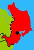 Hainan subdivisions - Wenchang showing main town.png