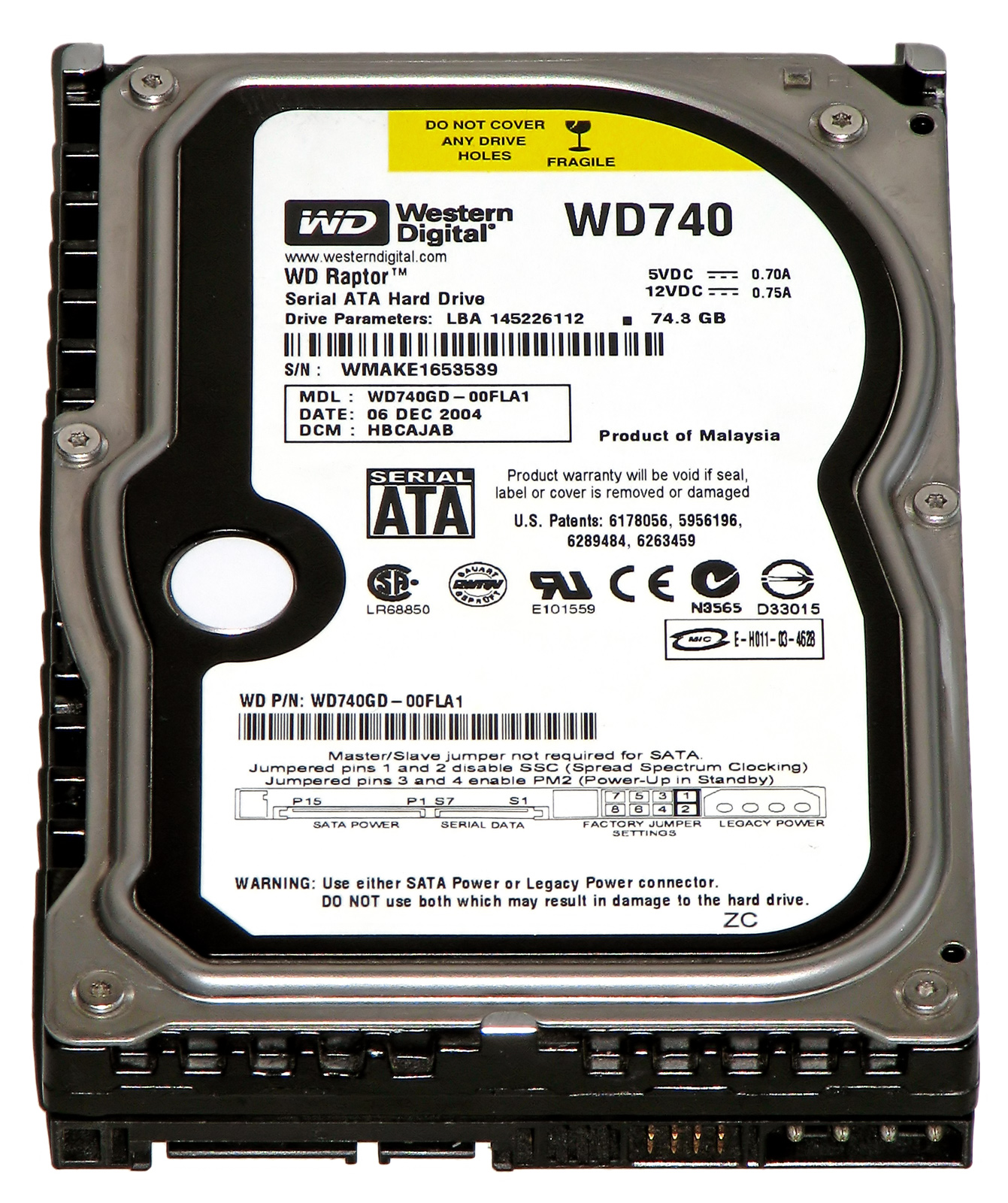 Western Digital Raptor Wikipedia Hardisk Pc 250 Gb Seagate Sata