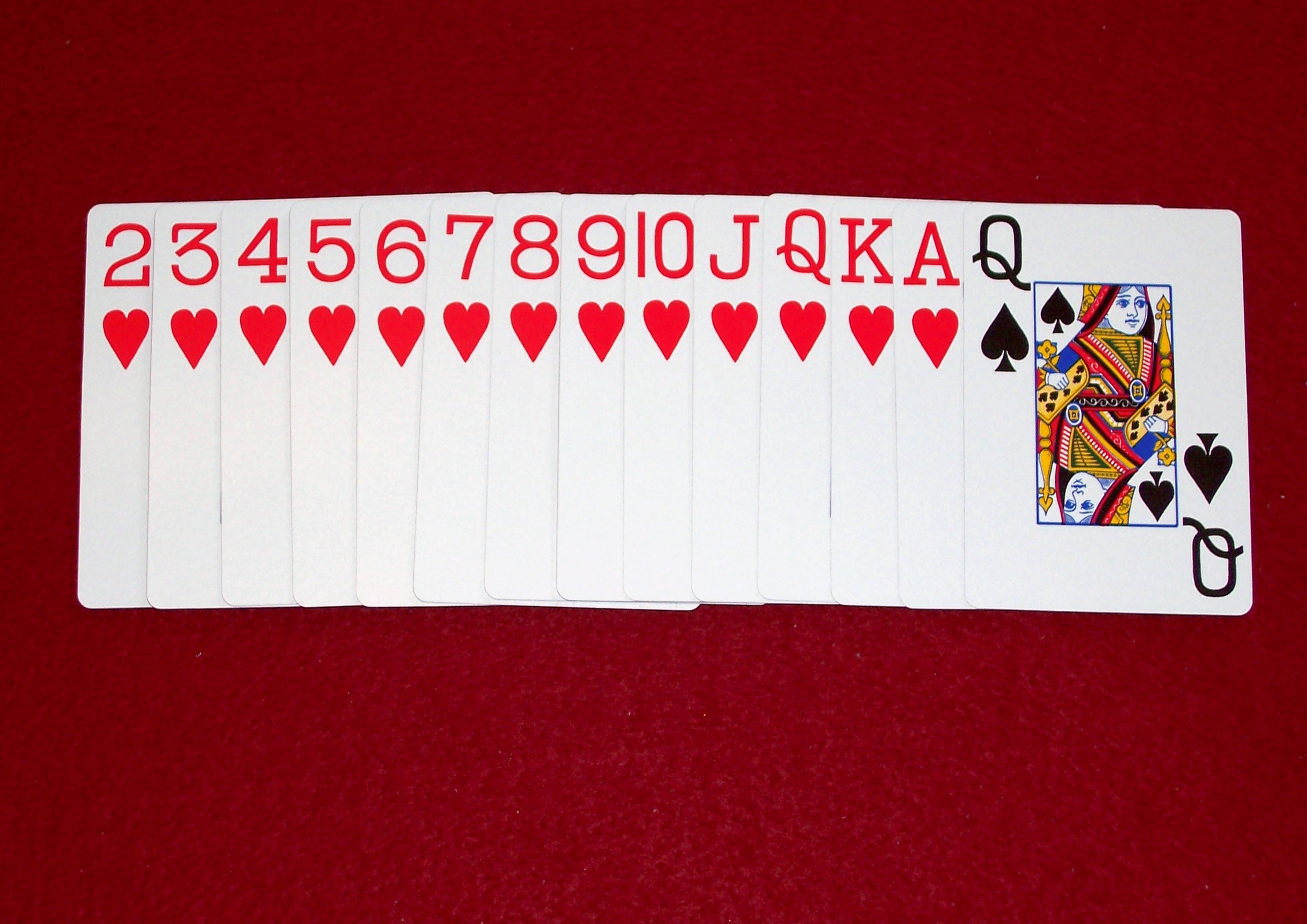 image relating to Printable Rules for Hand and Foot Card Game identified as Hearts (card video game) - Wikipedia