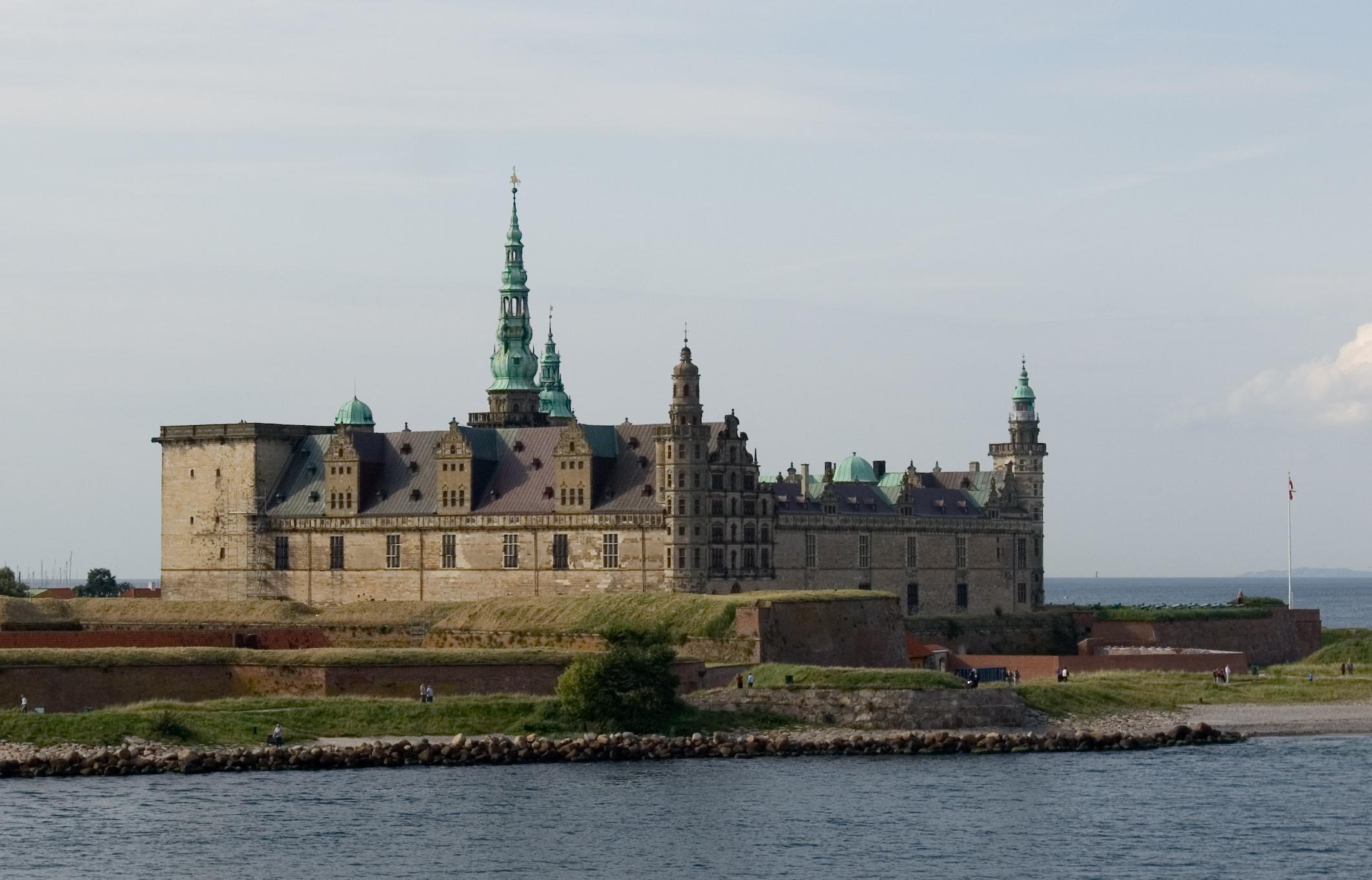 Danska Helsingoer_Kronborg_Castle