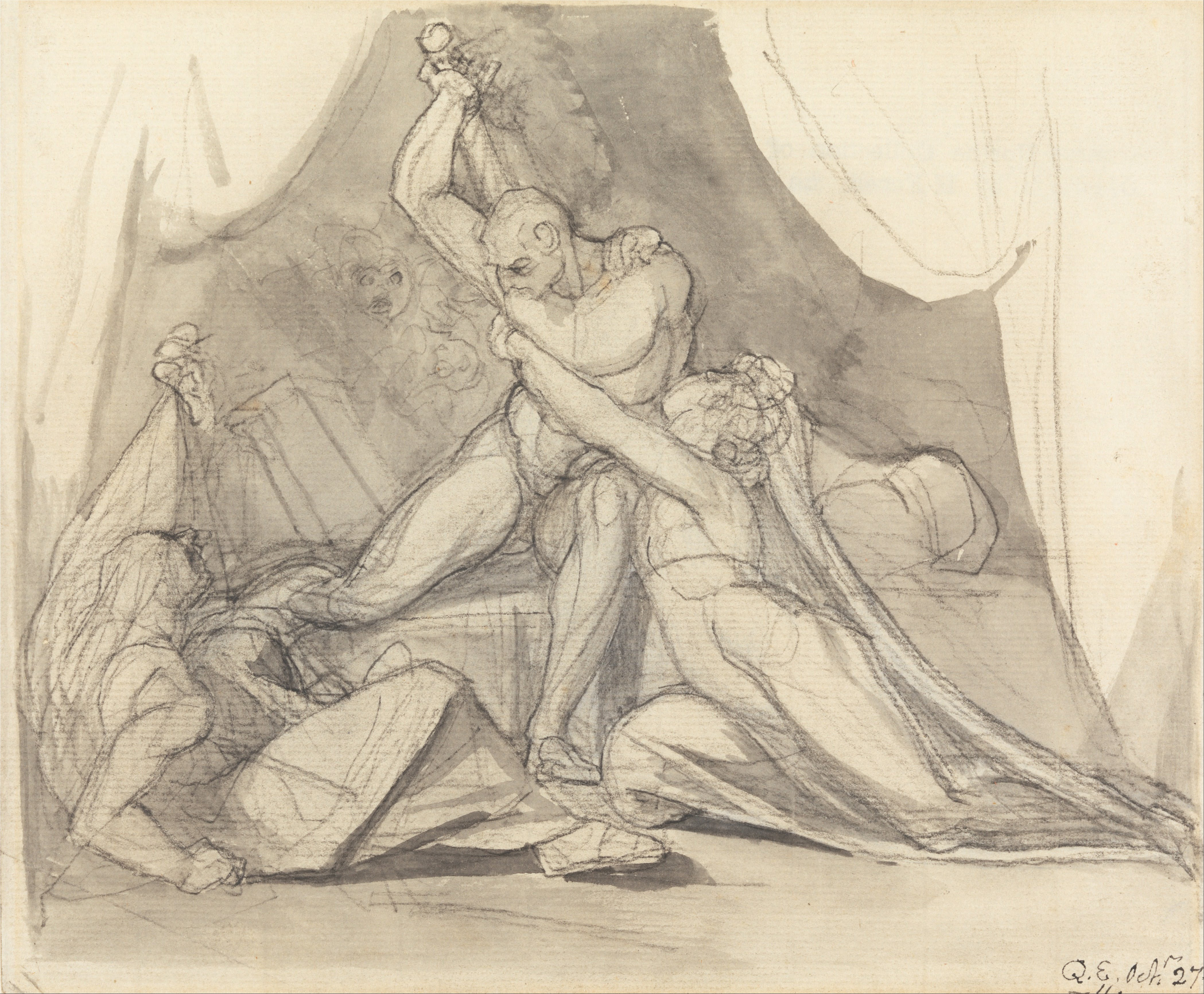File:Henry Fuseli - Percival Frees Belisane from the Spell of Urma ...