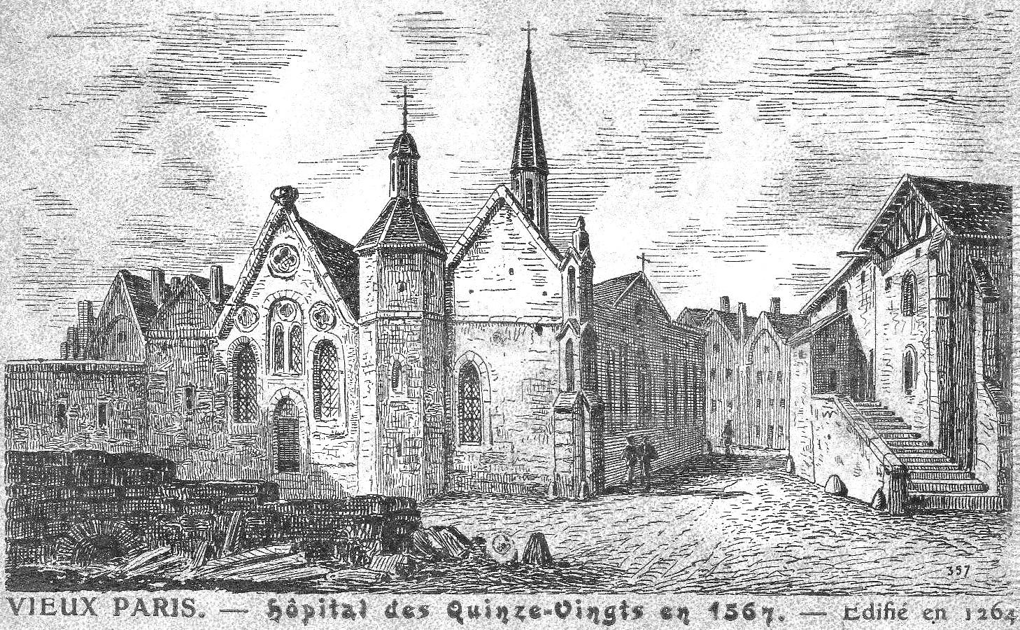 L'hospice des Quinze-vingts