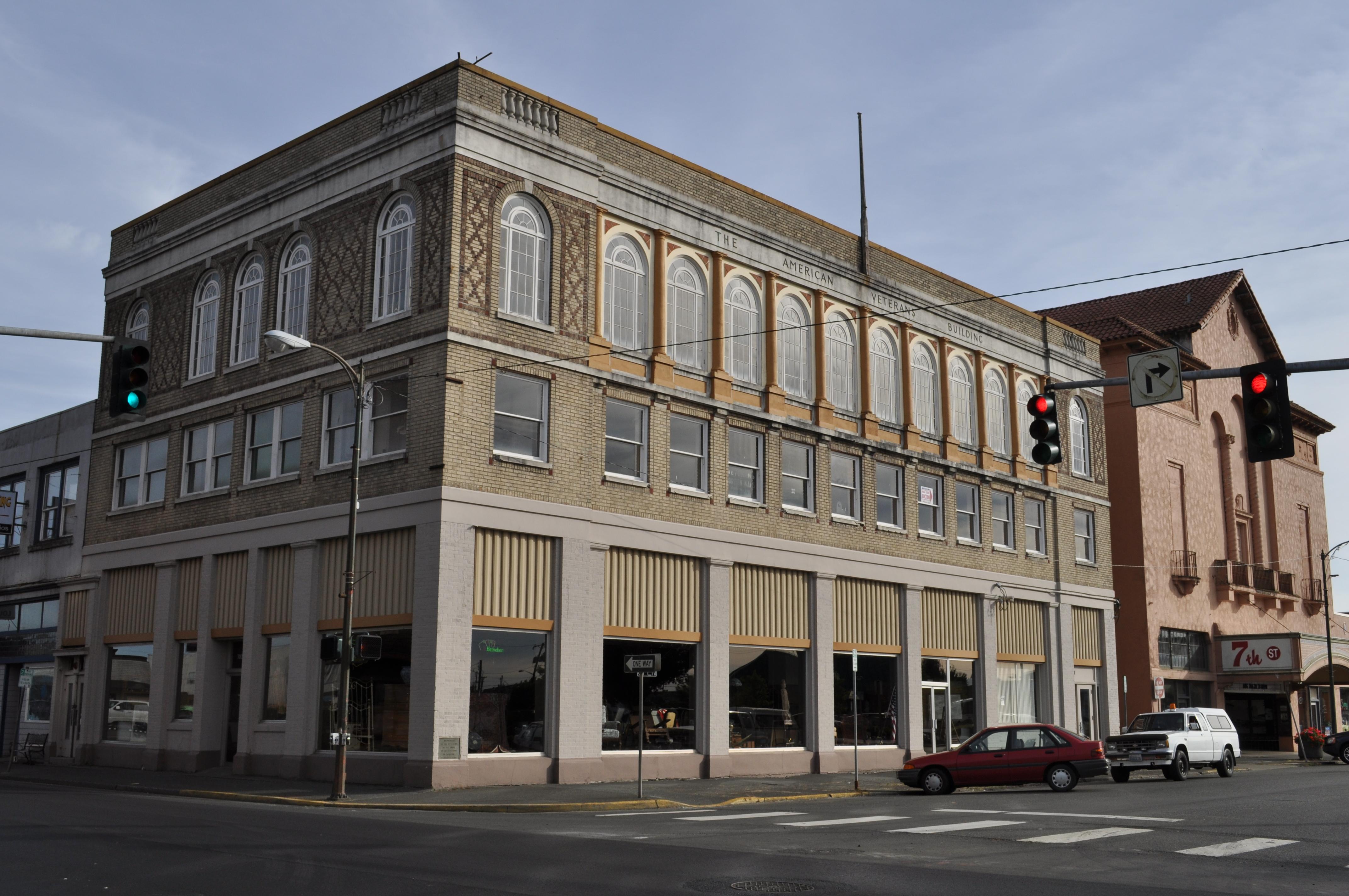 Hoquiam (WA) United States  city photo : Hoquiam, WA American Veterans Building 02 Wikimedia ...
