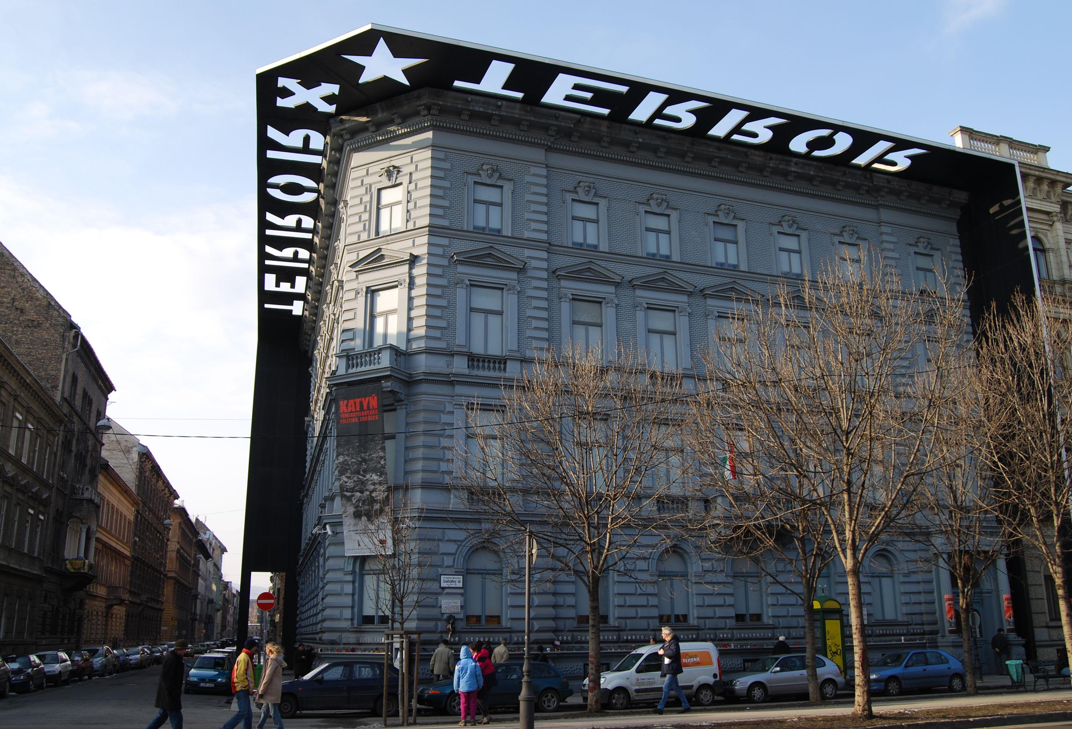 File House Of Terror In Budapest Jpg Wikimedia Commons