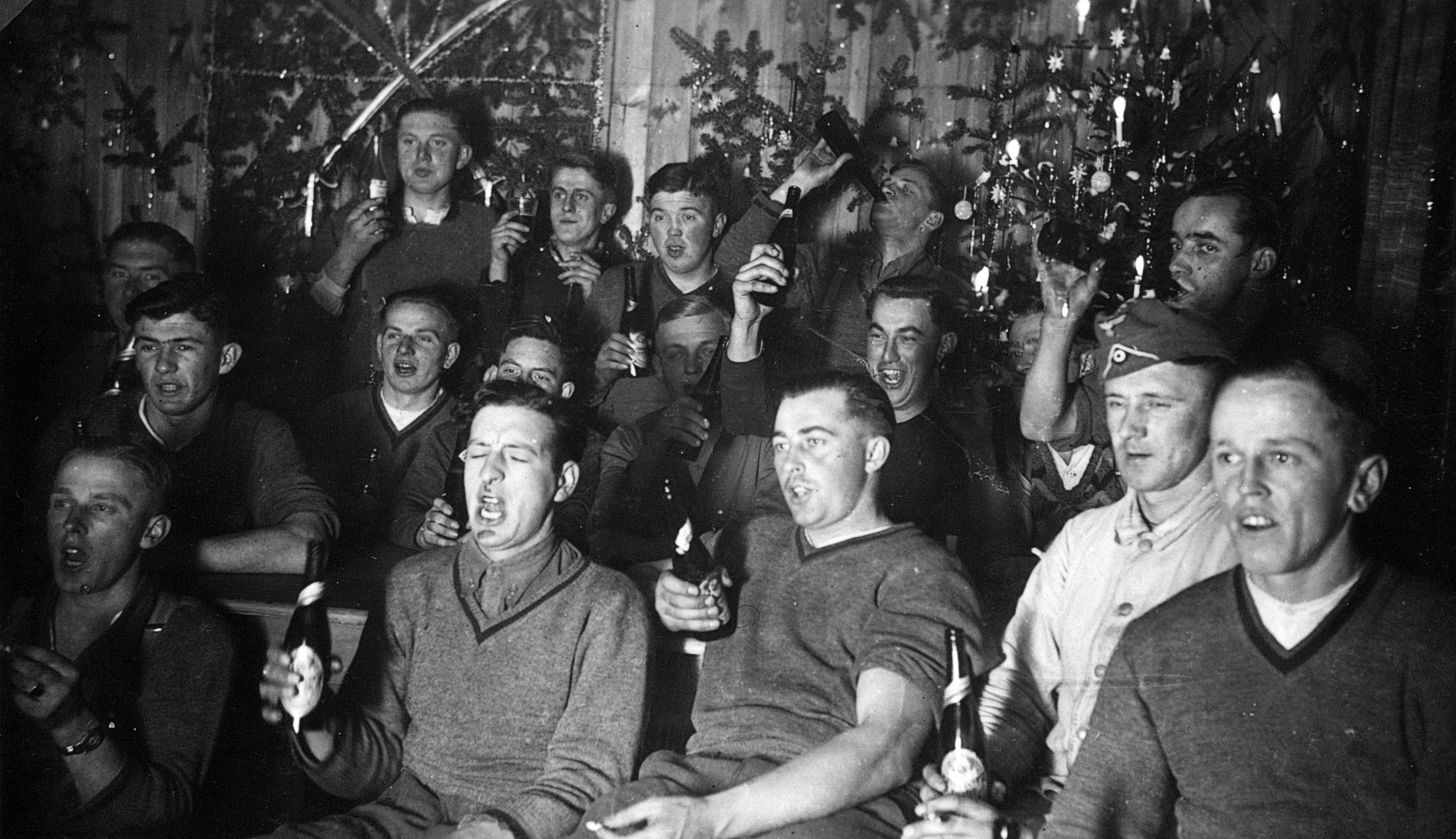 Weihnachten Wikipedia.File Infanterie Regiment 489 Weihnachten Dänemark 1940 2 By Raboe