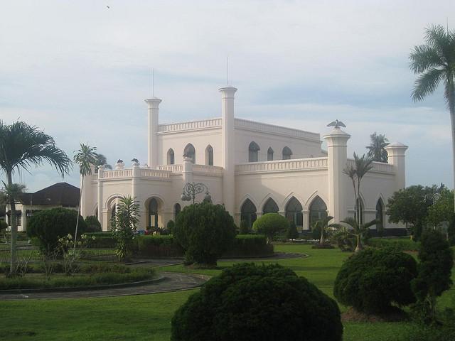 Riau, Istana Siak,