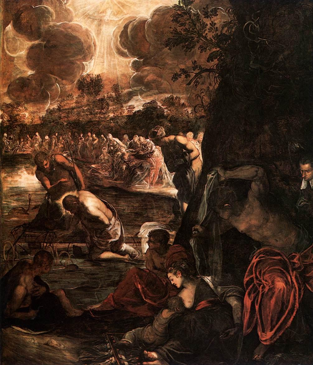 그리스도의 세례 (틴토레토, Tintoretto)