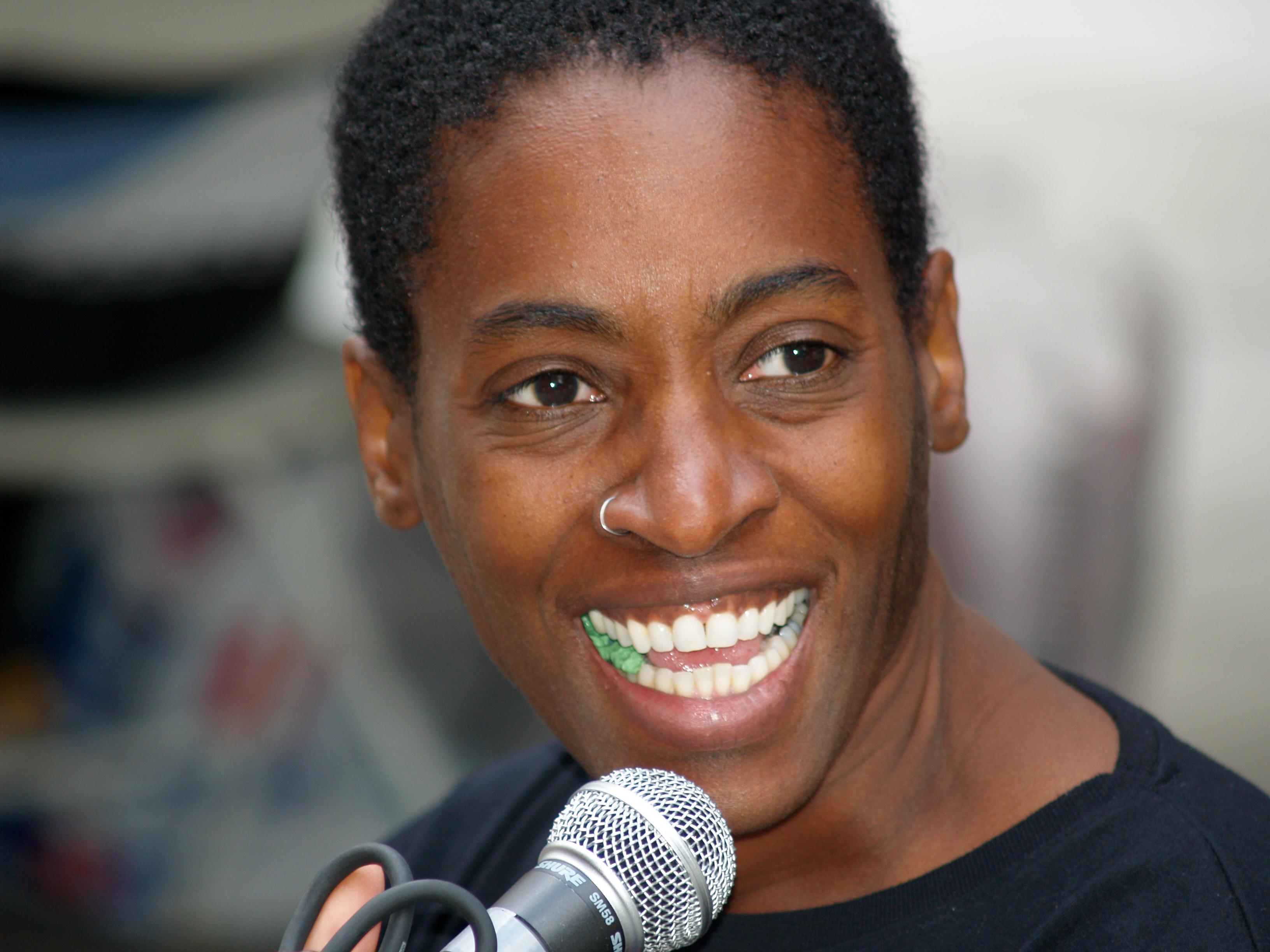 Portrait of Jacqueline Woodson