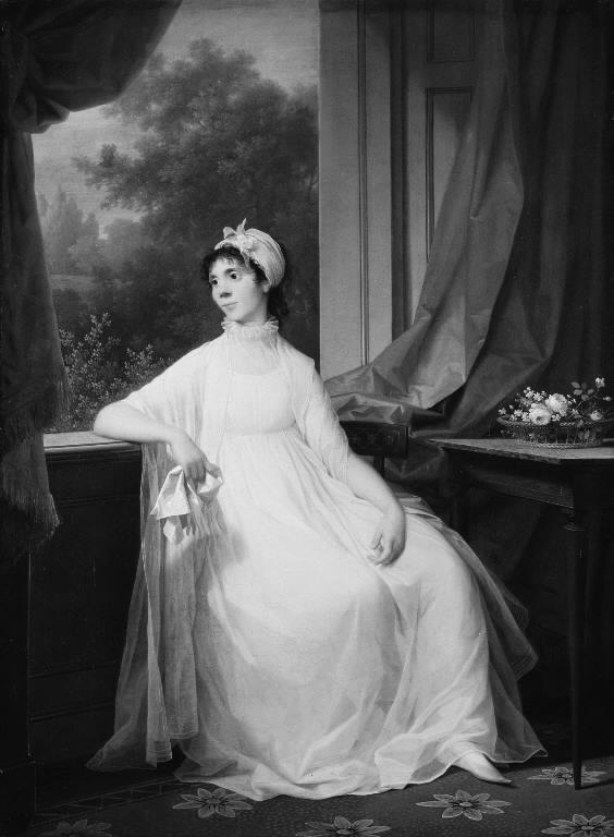Portrait of Gertrud Hage, née Heitmann