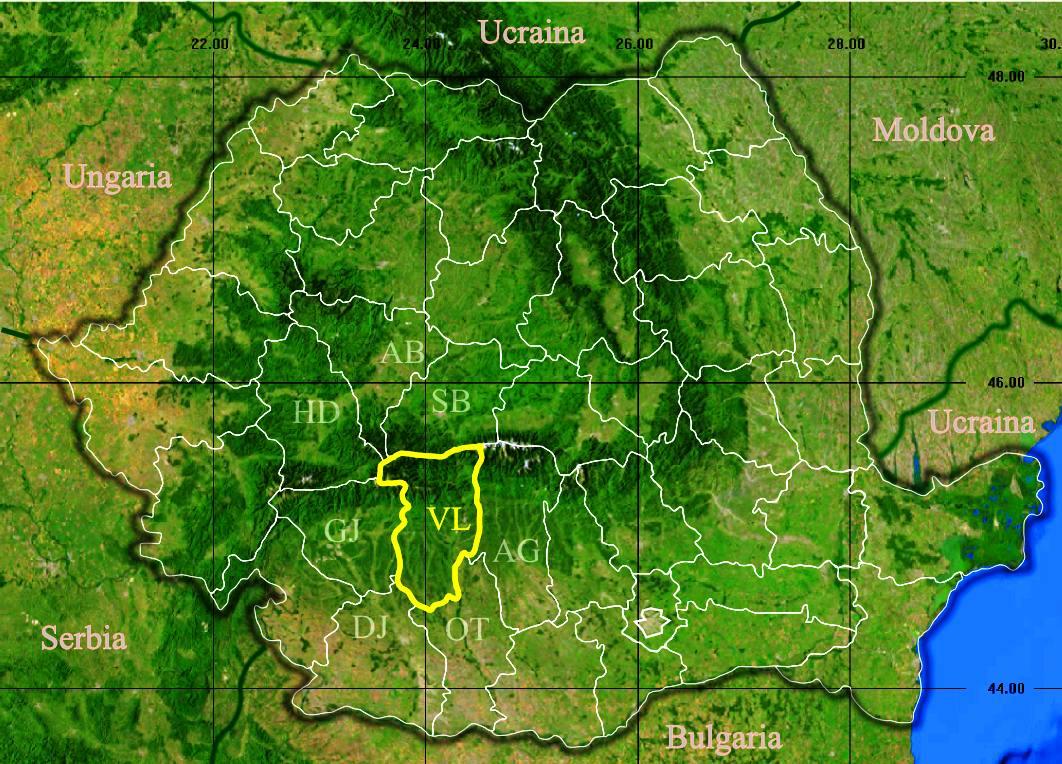 File Judetul Valcea 3d Map Jpg Wikimedia Commons