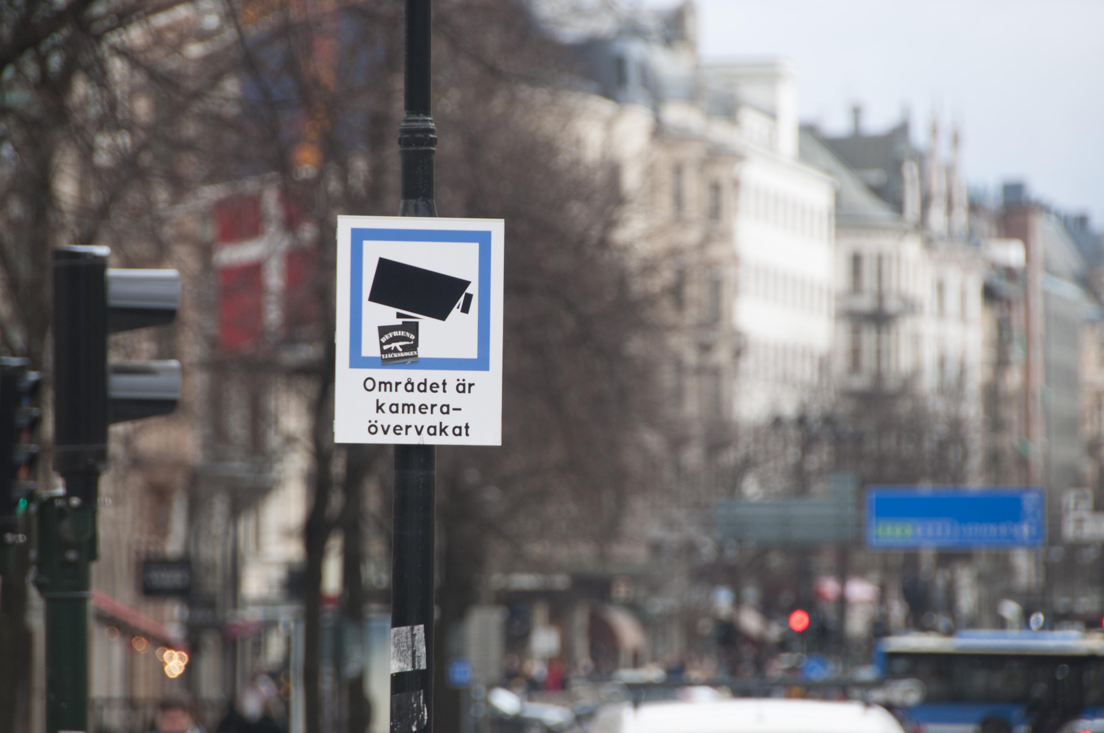Kamerabevakning av stureplan godkand