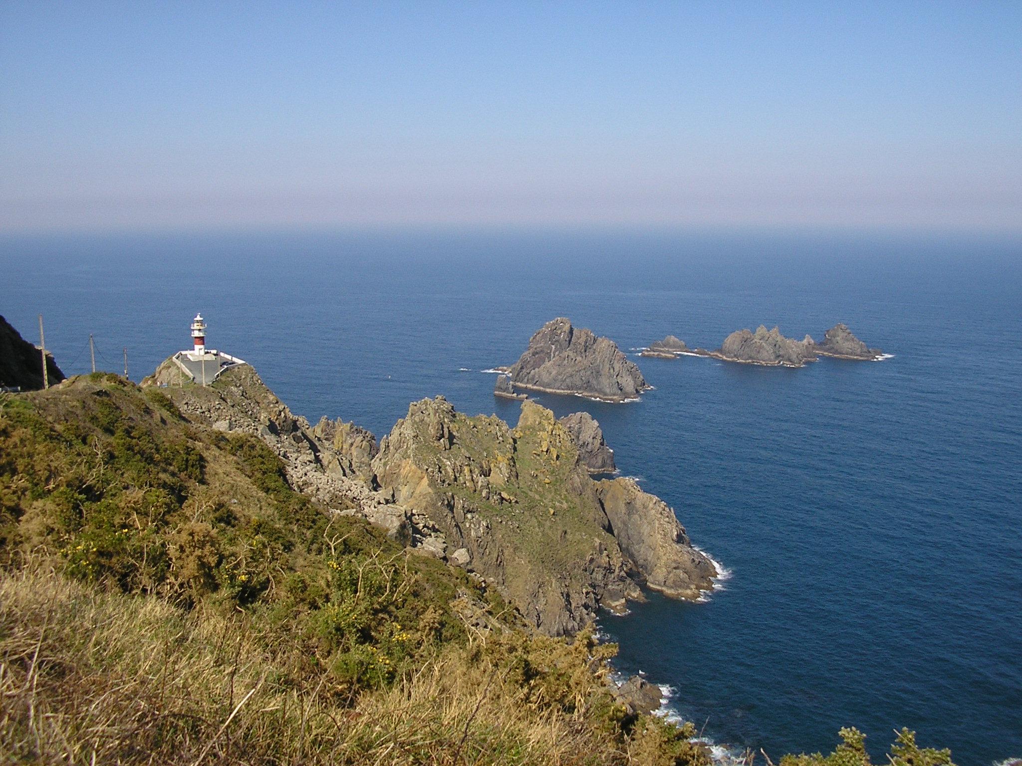 Cabo Ortegal Mapa Fisico.Cabo Ortegal Wikipedia La Enciclopedia Libre