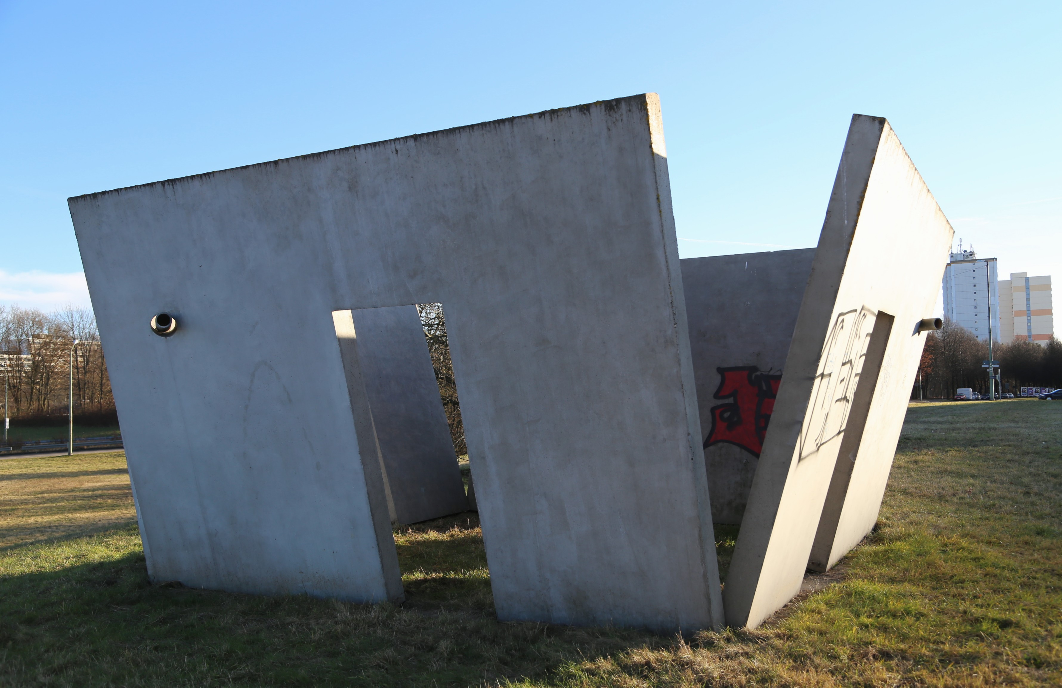 Schräge Wände file winkler pavillon schraege waende 2003 staendlerstraße