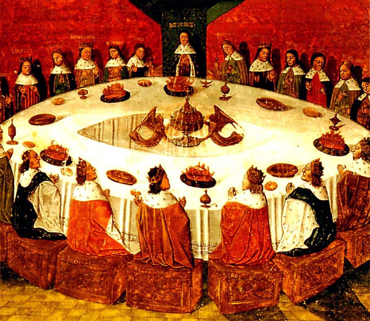 king arthur and his knights round Free essay: king arthur and the knights of the round table the legends of king arthur of britain and his knights of the round table, among the most popular.