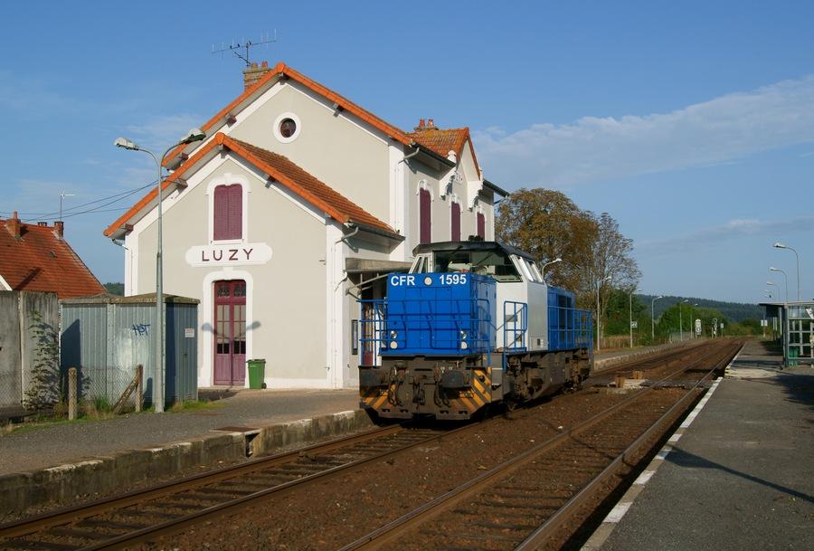 Gare de luzy wikip dia - Bureau change gare de l est ...
