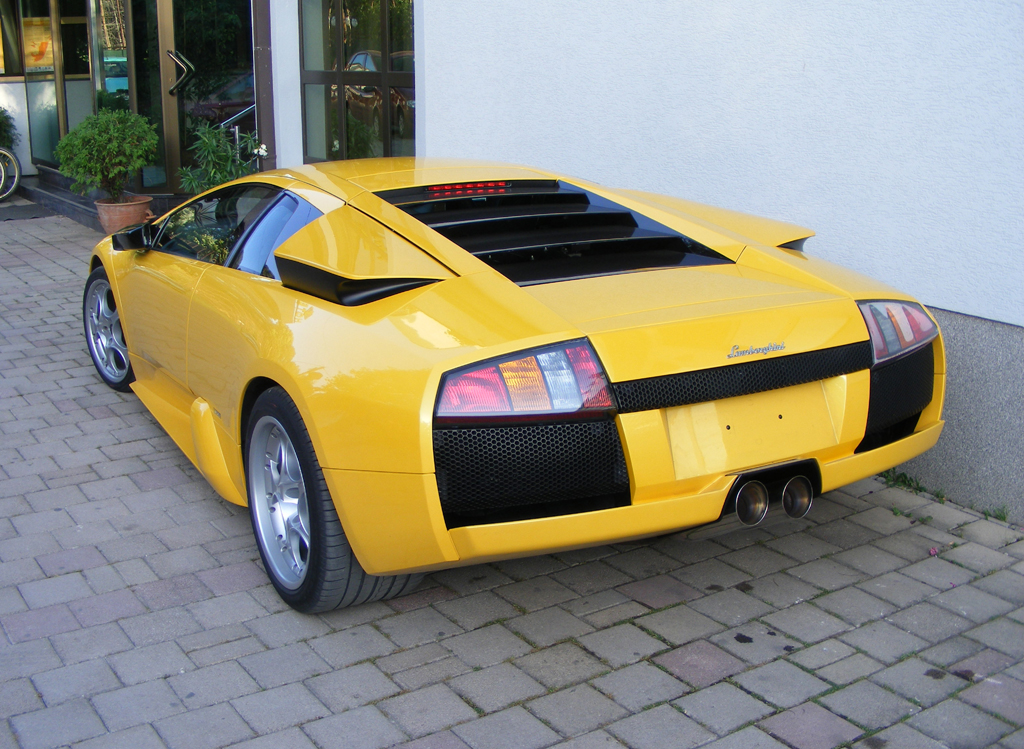 File Lamborghini Murcielago Back Left Jpg Wikimedia Commons