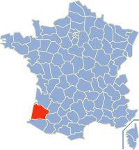 Communes of the Landes department Wikimedia list article