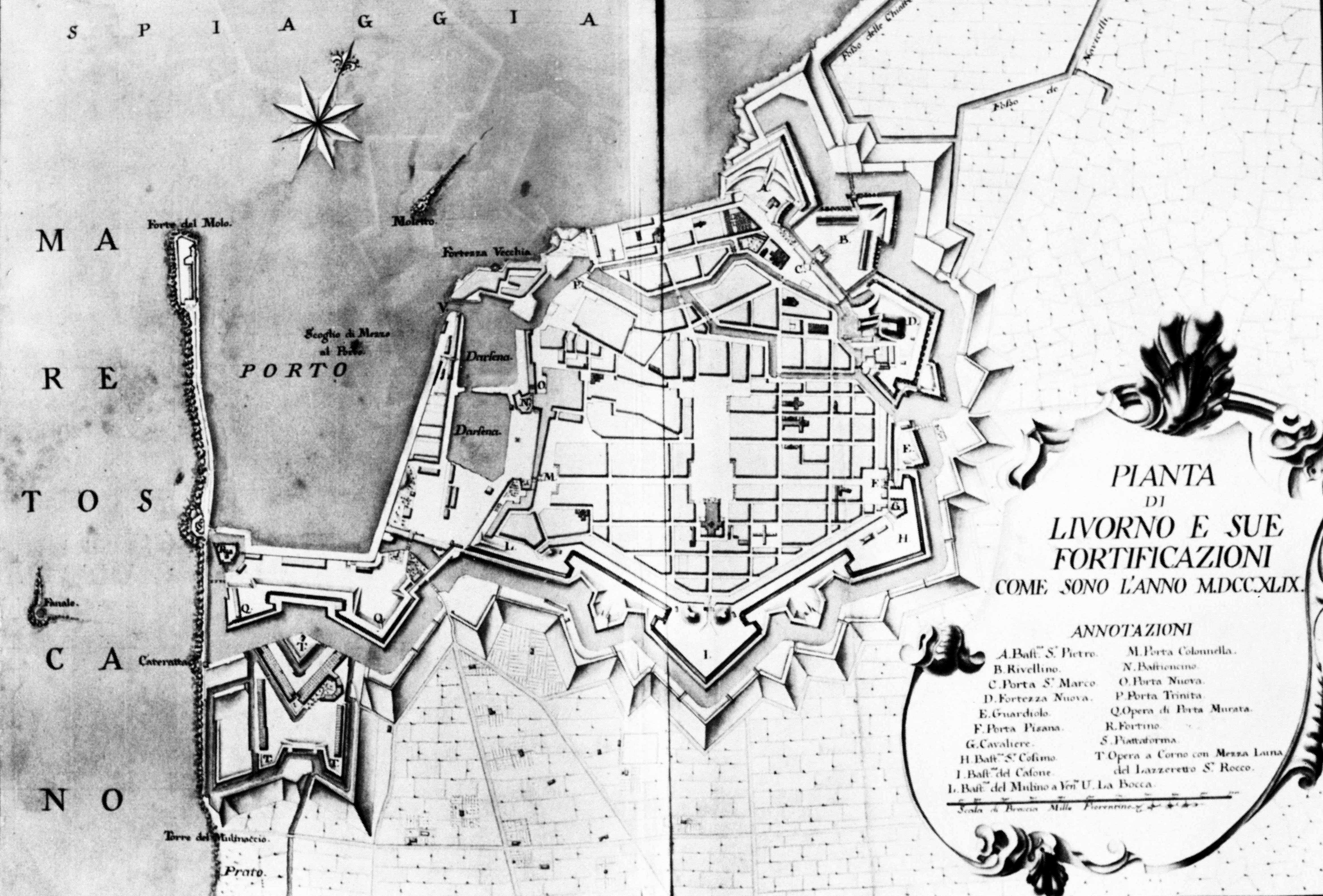 File Livorno Map Of The Town 1749 By Warren Atlas 01 Jpg
