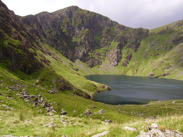 Llyn Cau and Craig Cau - geograph.org.uk - 1264867