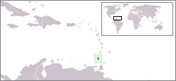 Location of Grénada