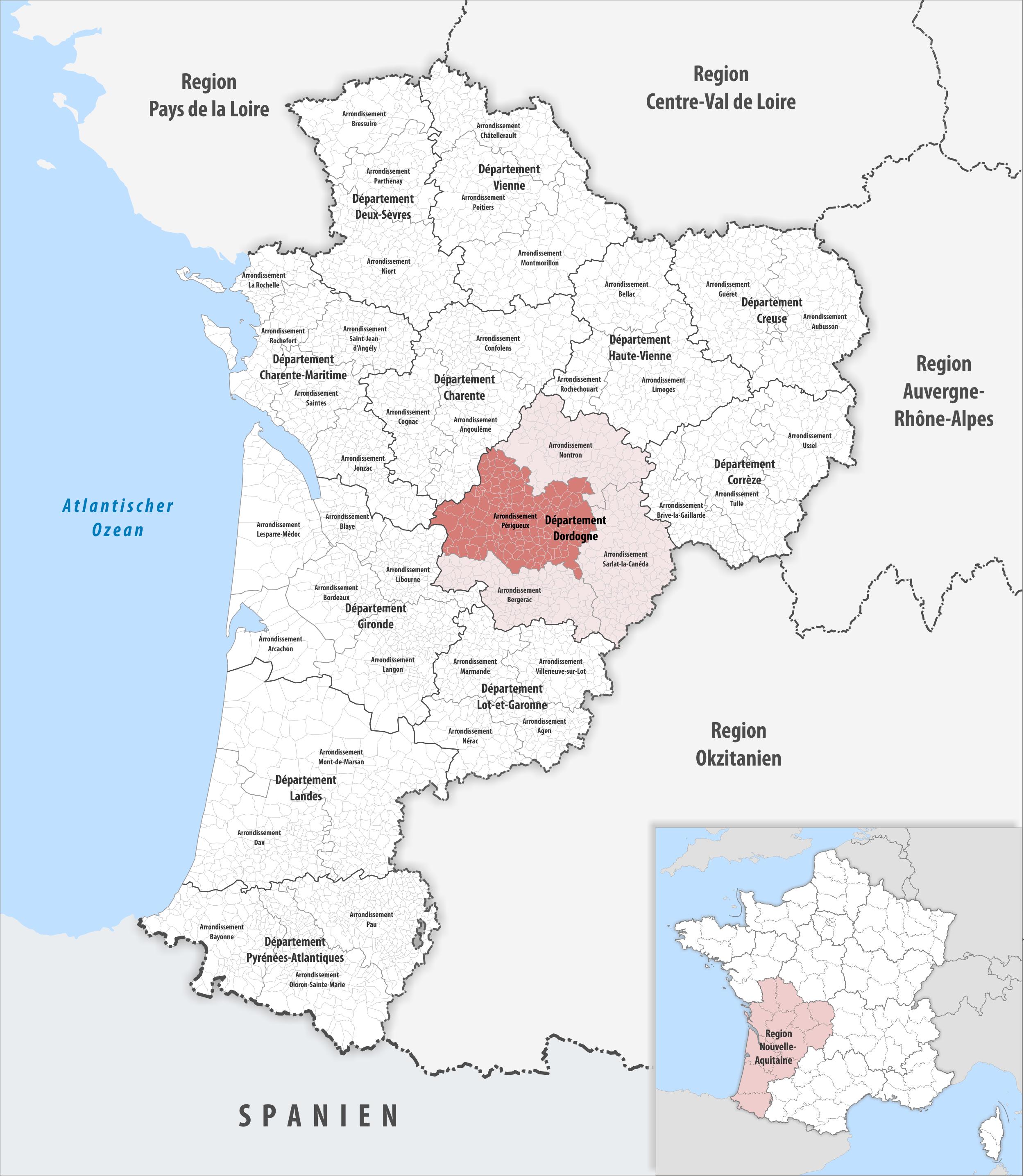 perigueux region aquitaine