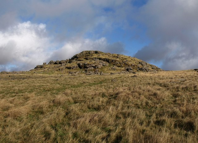 Longaford Tor - geograph.org.uk - 1591462