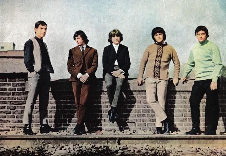 Los Gatos Salvajes en 1965.