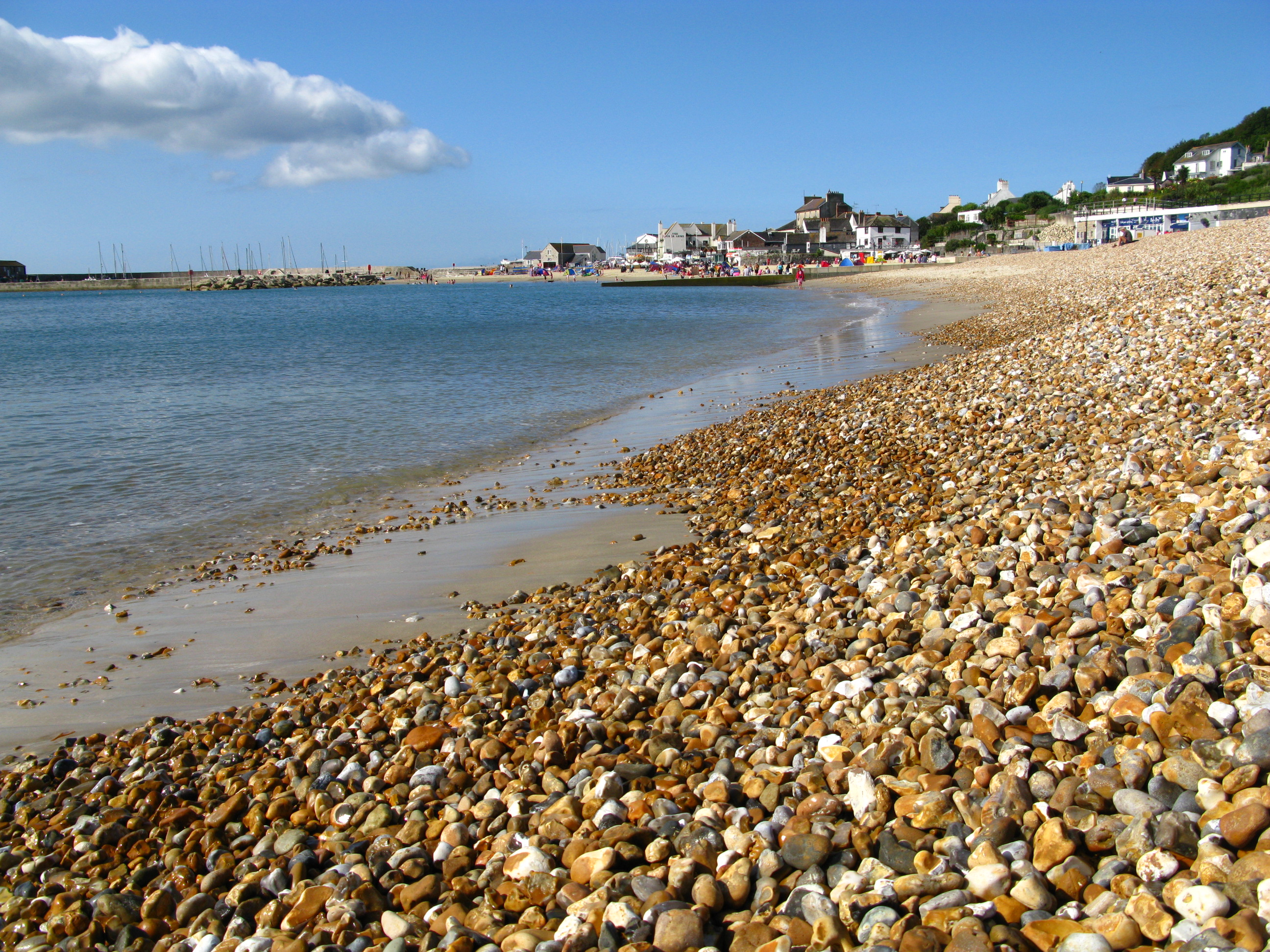 http://upload.wikimedia.org/wikipedia/commons/f/fc/Lyme_Regis_beach_02.JPG