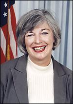 {{w|Lynn Woolsey}}, U.S. Congresswoman.