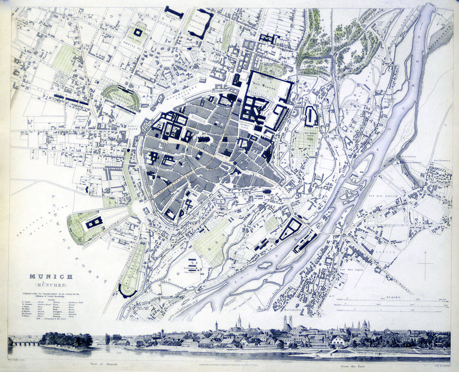 Datei:Map of Munich 1844.jpg – Wikipedia