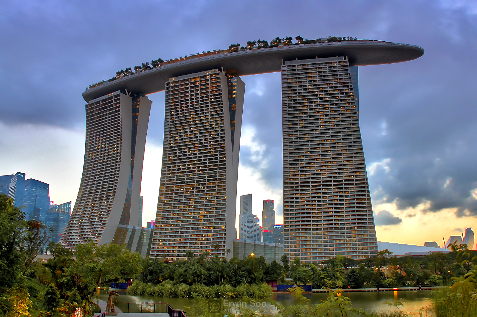 Marina Bay Sands Hotel Singapore Images
