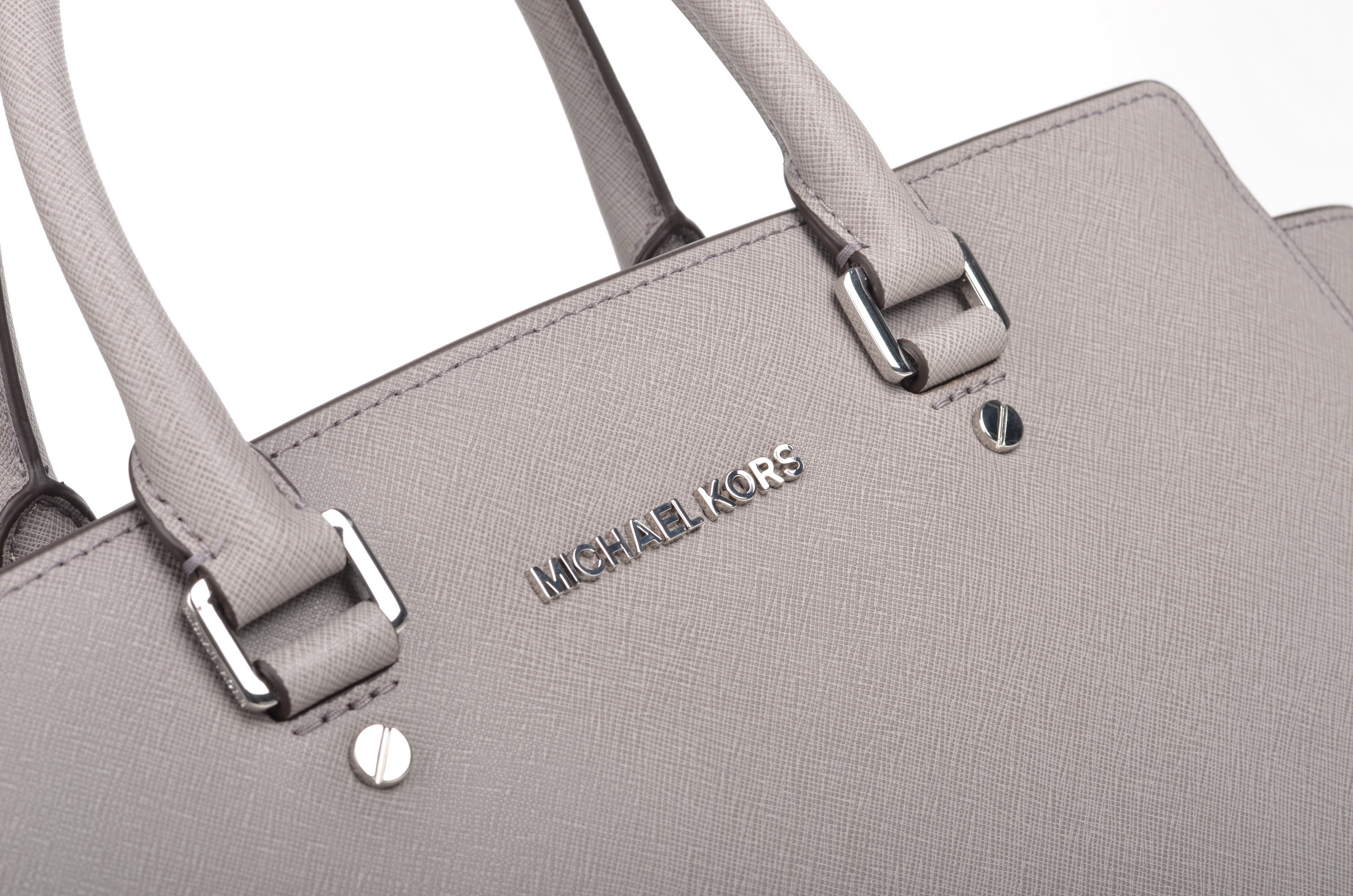 michael kors selma lg tz satchel silver mksale. Black Bedroom Furniture Sets. Home Design Ideas