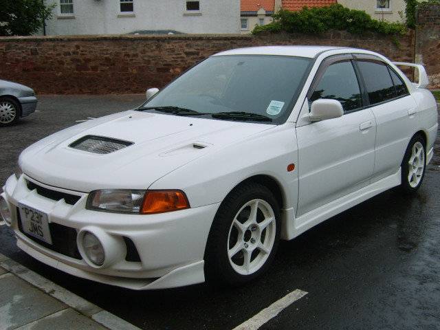 File Mitsubishi Lancer Evolution Iv Cn9a White Jpg