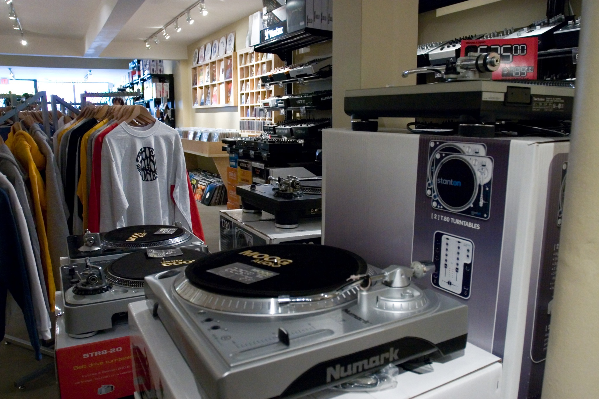 File:Moog Audio (shop) DJ gears, Montreal, Canada jpg