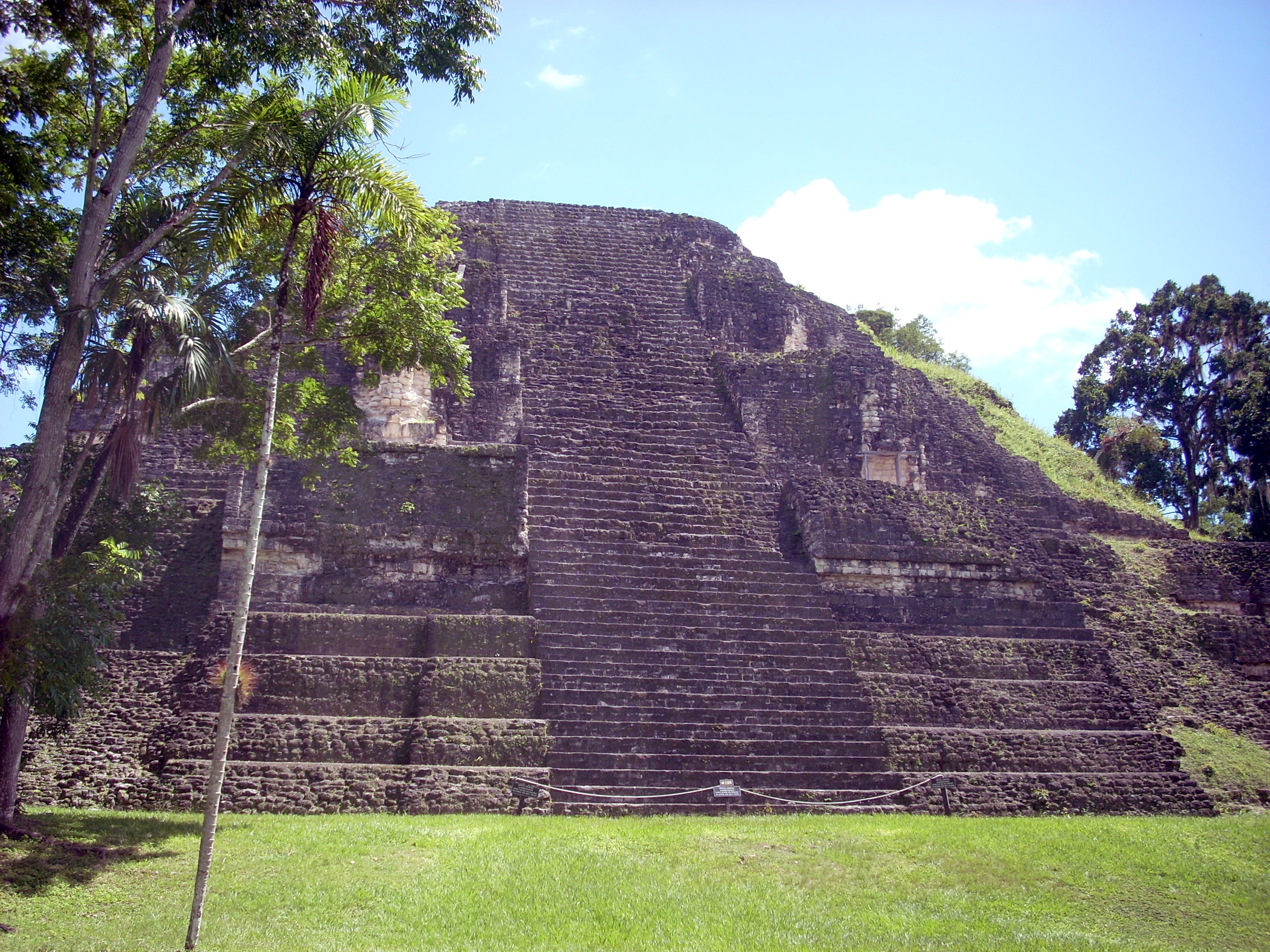 The Lost World Pyramid in the Mundo Perdido complex