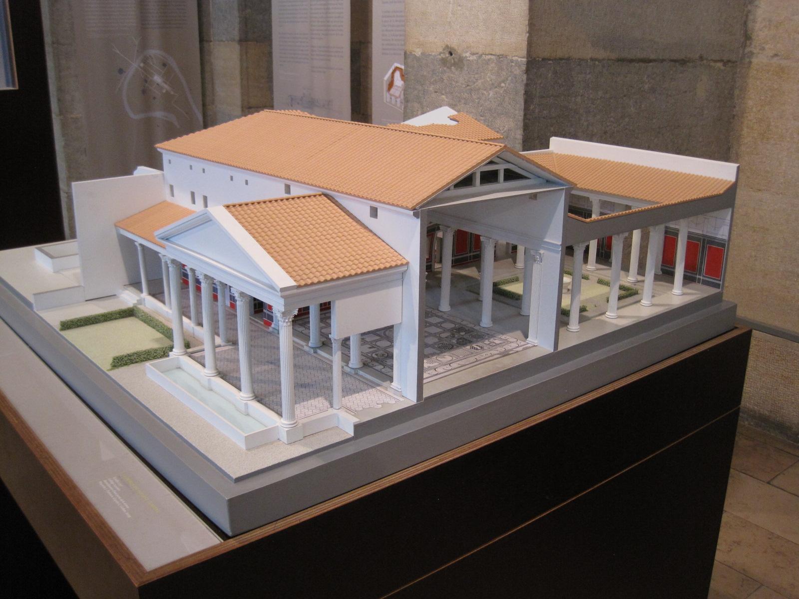 File mus e beauxarts besan on wikimedia commons - Maison romaine antique ...