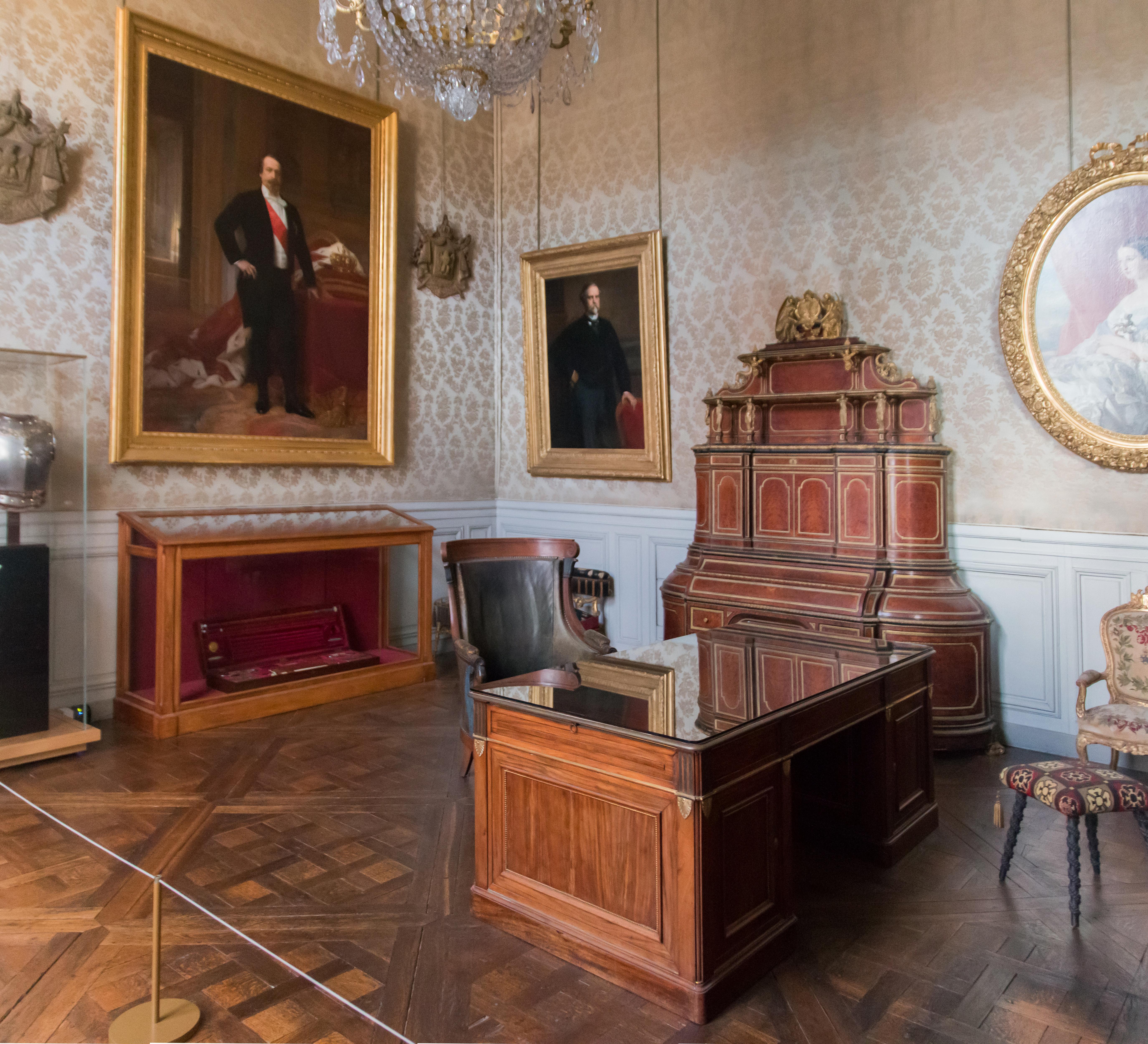 File:Musée Du Second Empire Salle Napoléon III 20150303
