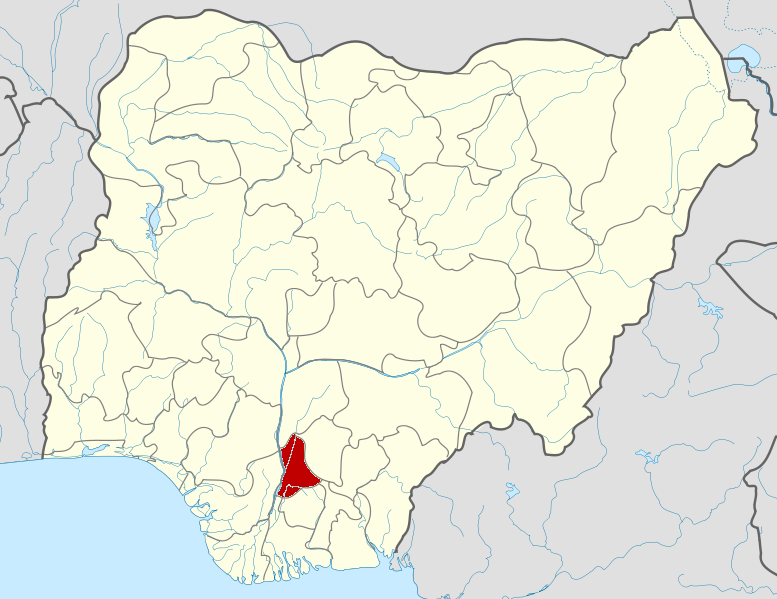 Датотека:Nigeria Anambra State map.png