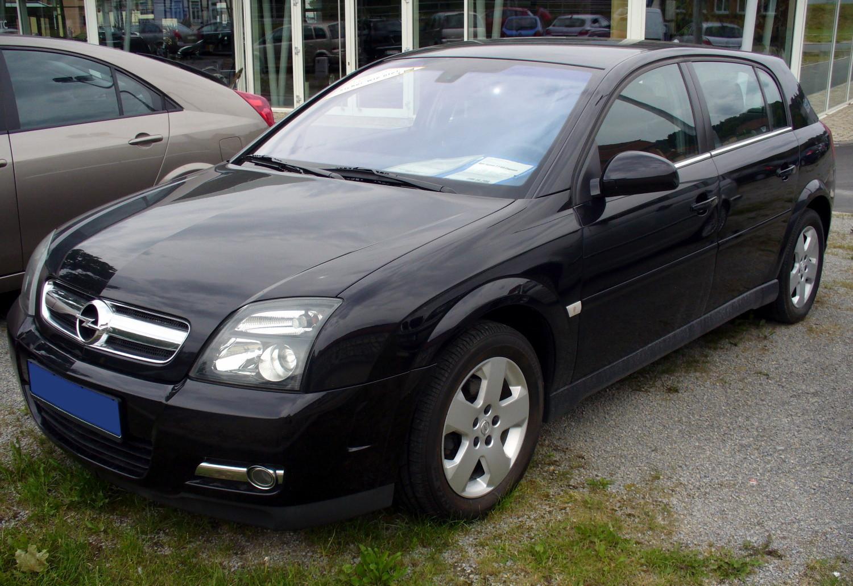 File Opel Signum 2 2 Dti Vorfacelift Saphirschwarz Jpg