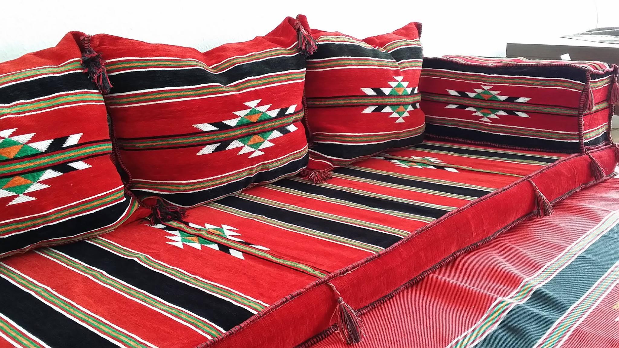 file:orientalische sitzecke ,original nach traditioneller art