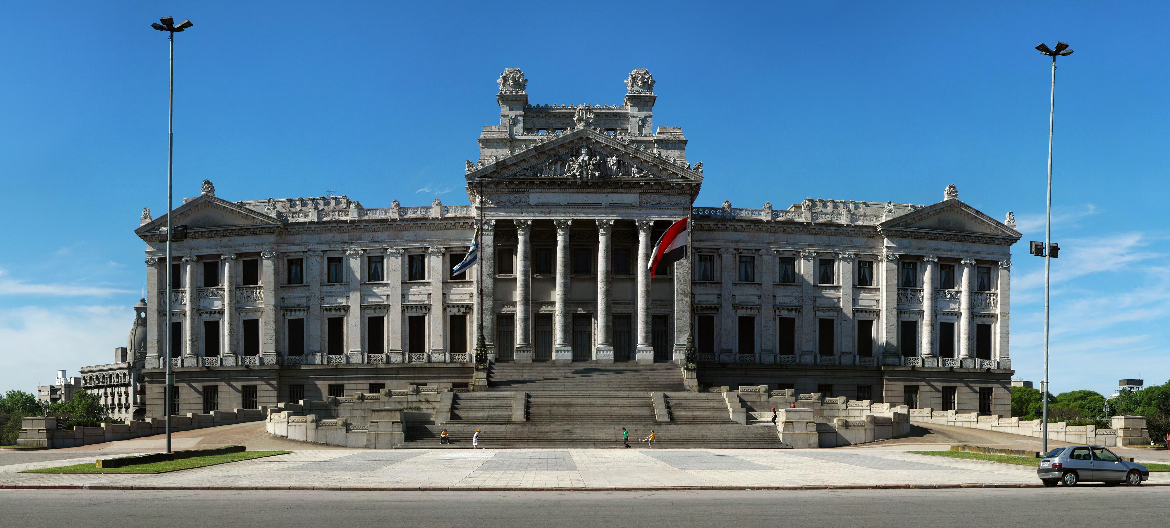 Depiction of Palacio Legislativo del Uruguay