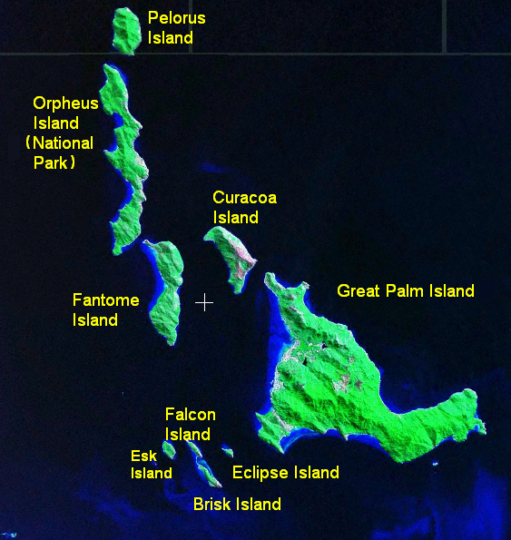 Magnetic Island Map