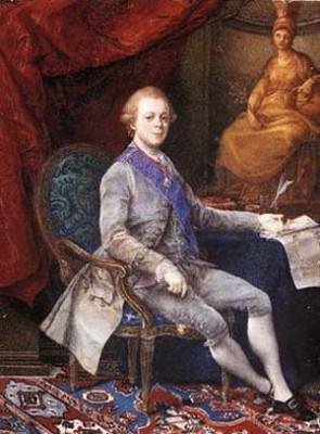 наследник Павел Петрович, 1782 г, картина Помпео Батони