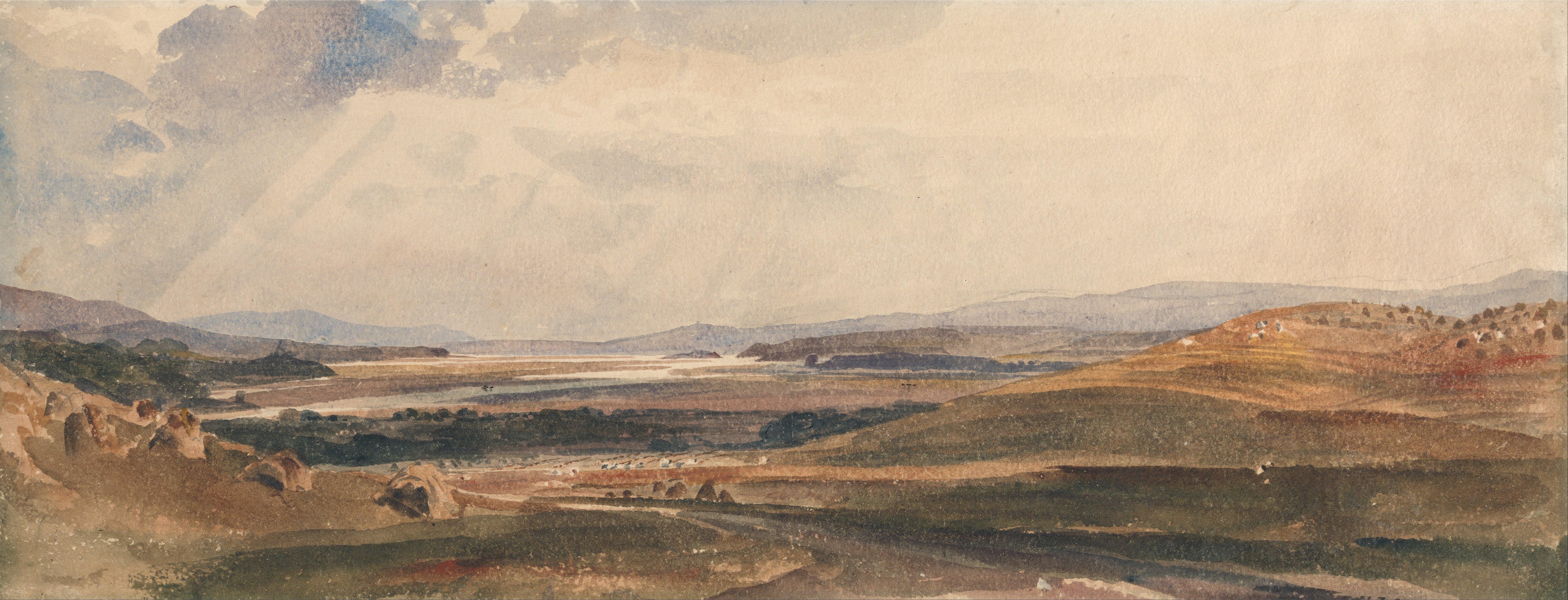 File:Peter DeWint - Harvest Time- Cumberland - Google Art Project.jpg - Wikimedia Commons