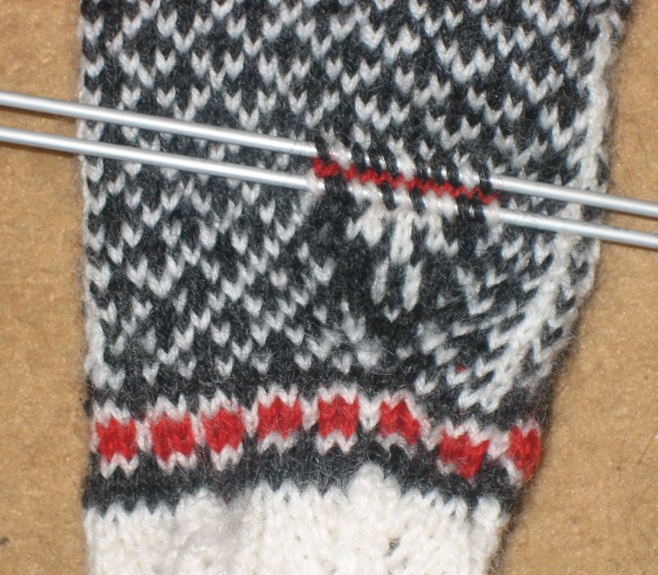 Knitting And Picking Up Stitches : Pick up stitches (knitting) - Wikipedia