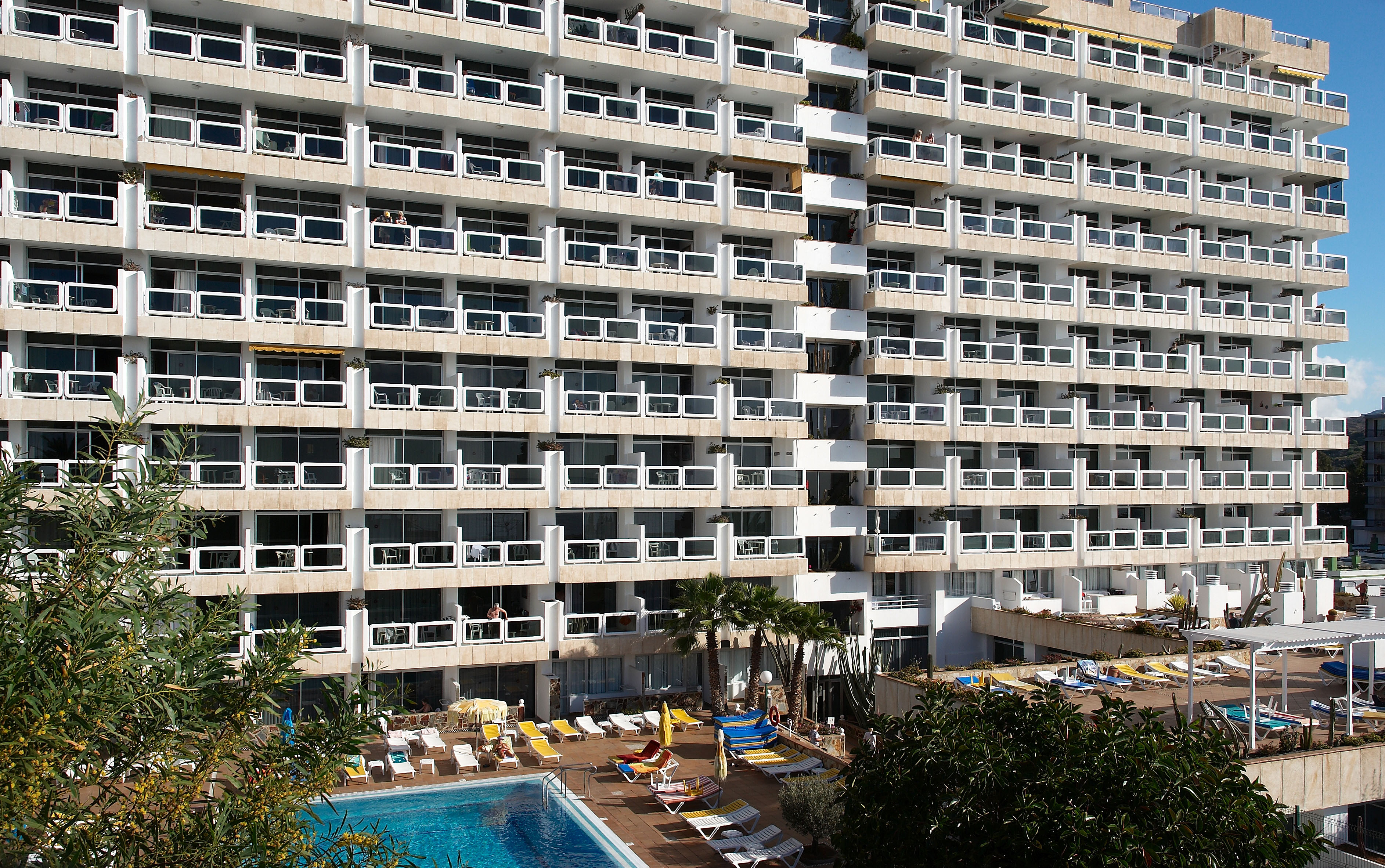 Playa Del Ingles Hotel Park Tropikal