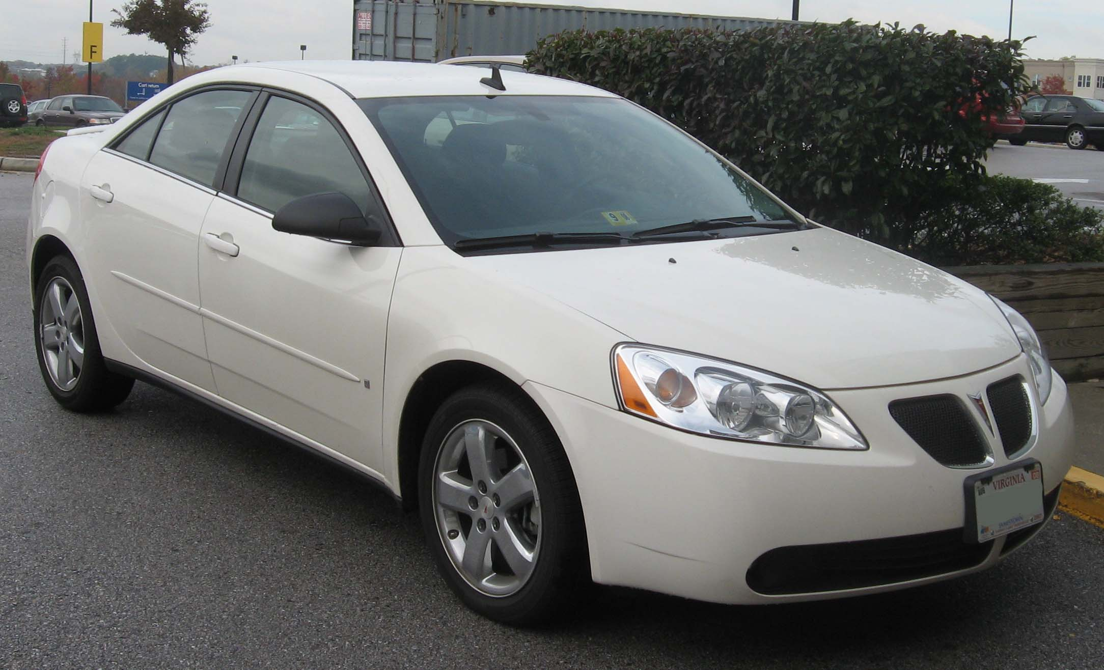 File Pontiac G6 Gt Sedan Jpg Wikimedia Commons