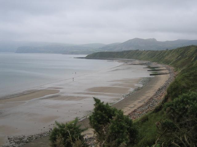 Porth Dinllaen Bay from the Llŷn Coastal Path-Llwybr Arfordir Llŷn - geograph.org.uk - 950122