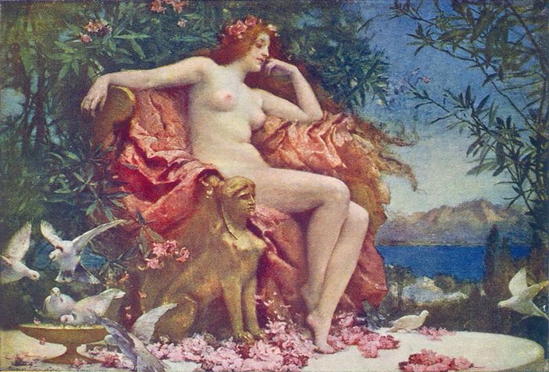 Файл: Рэй, Генриетта - Венера на престоле - 1905.jpg
