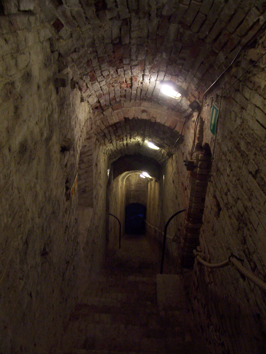 Places of torture: the descent to the Sala delle Torture at Rocca Malatestiana (wikimedia.org)